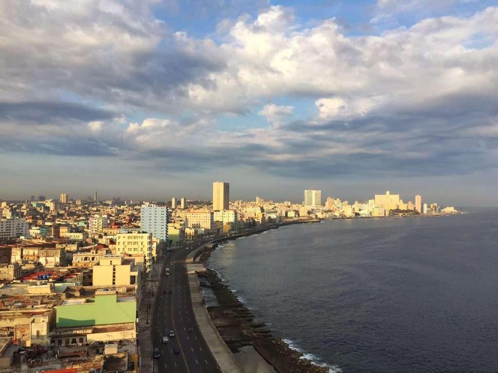 Gorgeous Clouds Over Malecon - Havana, Cuba by Ralph Velasco