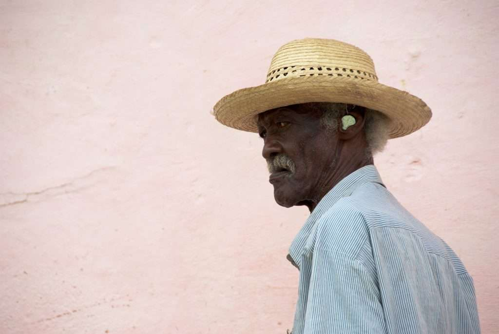 Man with a Coin in His Ear - Trinidad, Cuba by Ralph Velasco