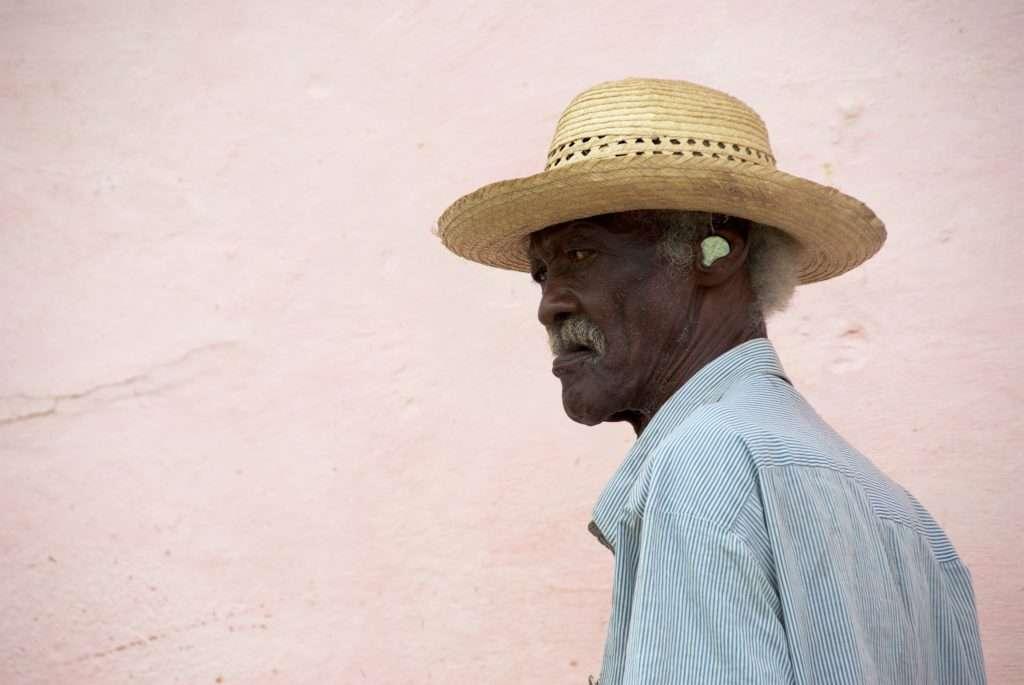 Man with a Coin in His Ear - Trinidad, Cuba by Ralph Velasco