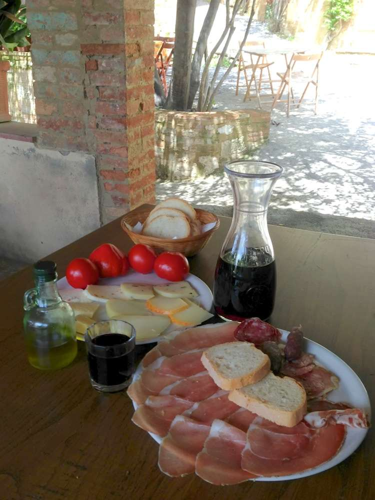 Best Meal Ever at Rita's in Lucignano d'Asso, Italy by Ralph Velasco