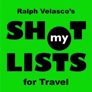 My Shot Lists for Travel app icon